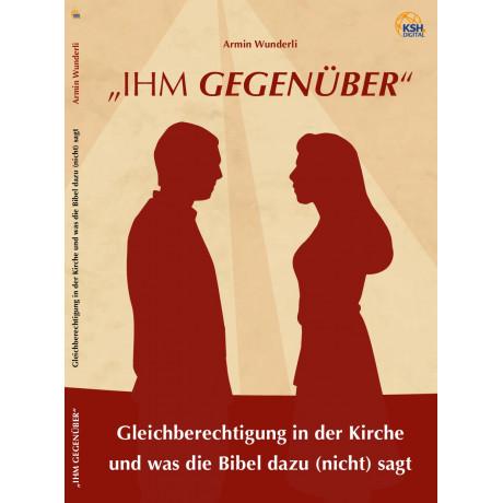 "Armin Wunderli Buch aktuell: ""ihm gegenüber"""